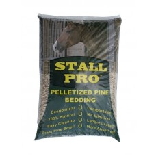 STALL PRO 100% Pine Pelletized Bedding, 40 Lbs