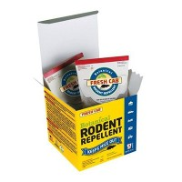 Fresh Cab Botanical Rodent Repellent 4 Scent Pouches - Keeps Mice Out